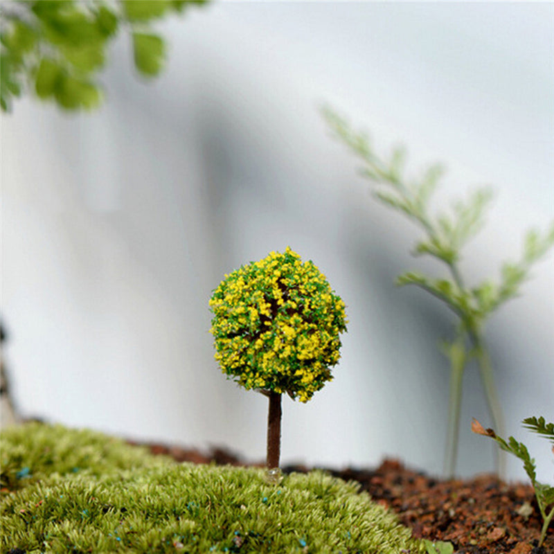 5Pcs/lot Micro simulation tree flower ball