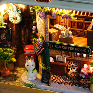 Wooden Cute Mini Doll House