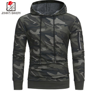 Male Hoody Hip Hop Zipper