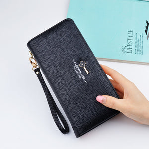Luxury Leather Clutch