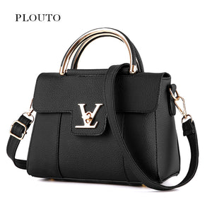 Small Shoulder V Lock Lady Flap Cover Bag