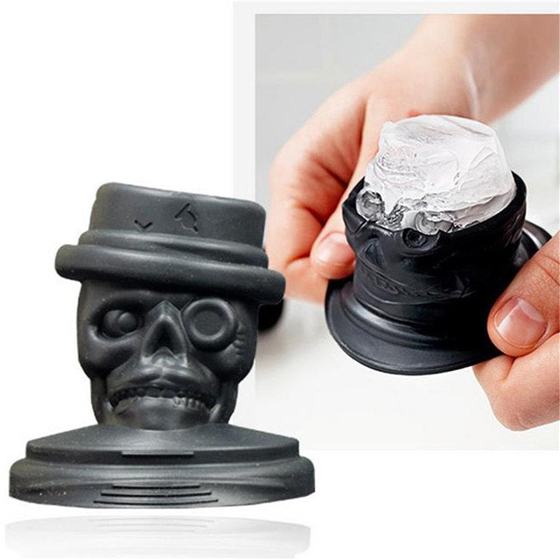 3D Creative Skull skeleton Mold