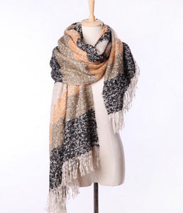 Winter Mohair Scarf