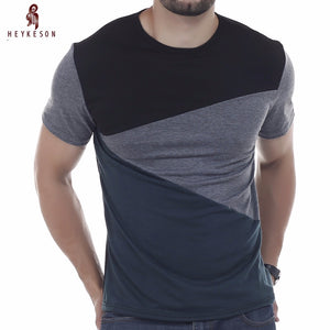 O-Neck Simple splicing Shirt