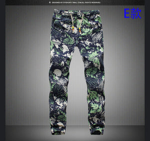 Men Linen Casual Pants