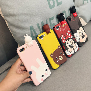 3D Mickey Minnie Mouse Donald Duck Case