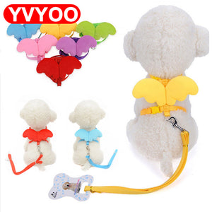 Cute Angel Adjustable Dog Harness