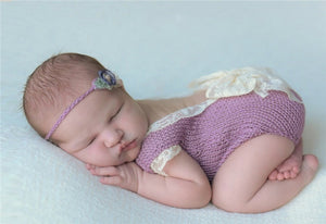 Baby Knitted Lace Romper