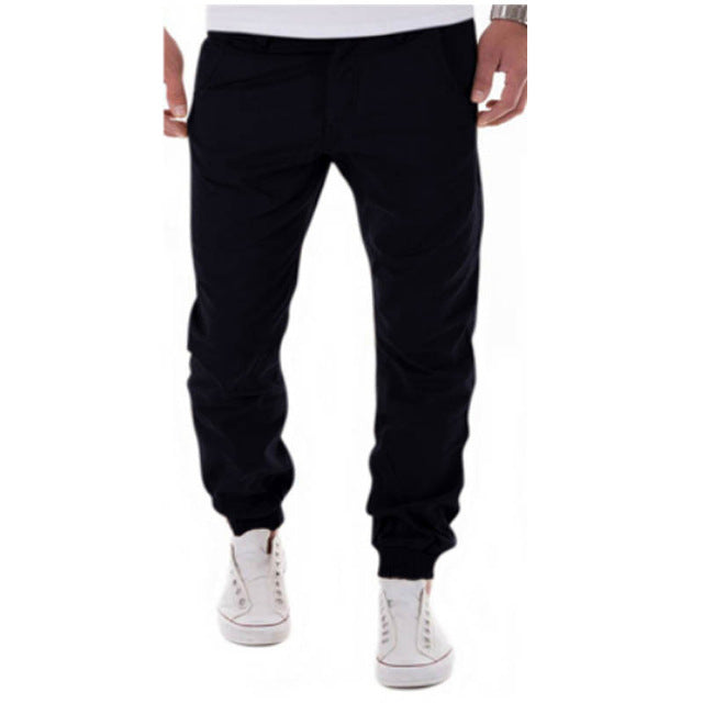 Male Casual Solid Pants