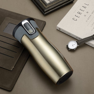Vacuum Insulated Stainless Steel Travel Mug