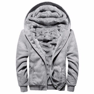 Thick Zipper Coat