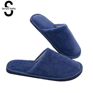 Plush Cotton Slippers