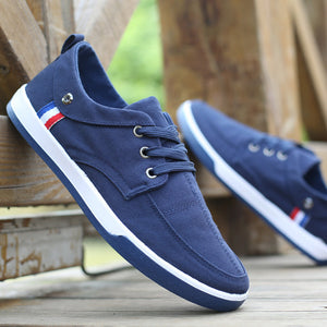 Casual breathable denim shoes
