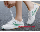 Hatch Laugh Leisure White Kung Fu Shoes