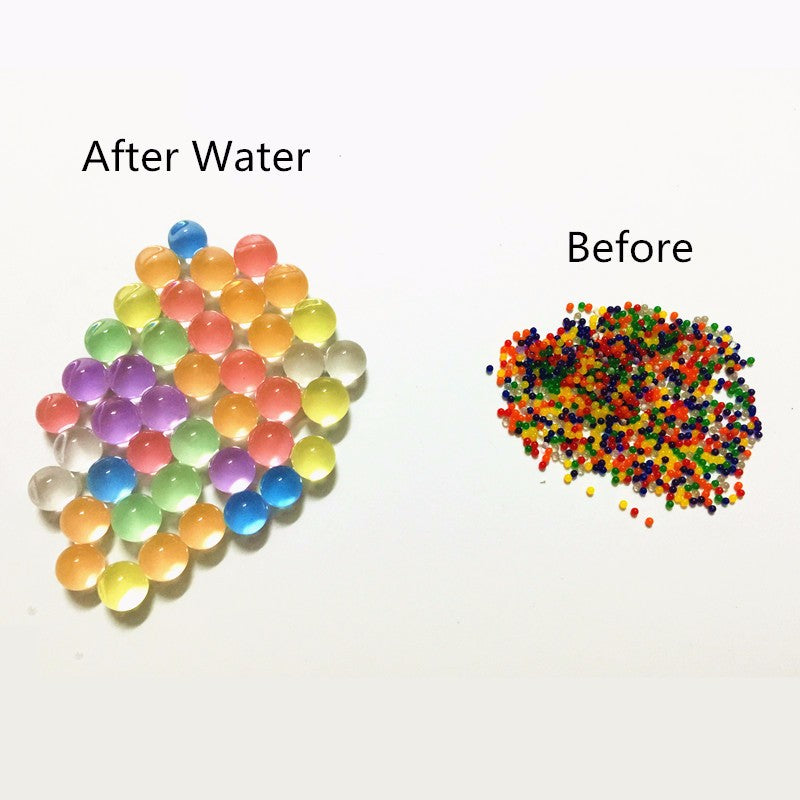 Pearl shaped Crystal  Water Beads
