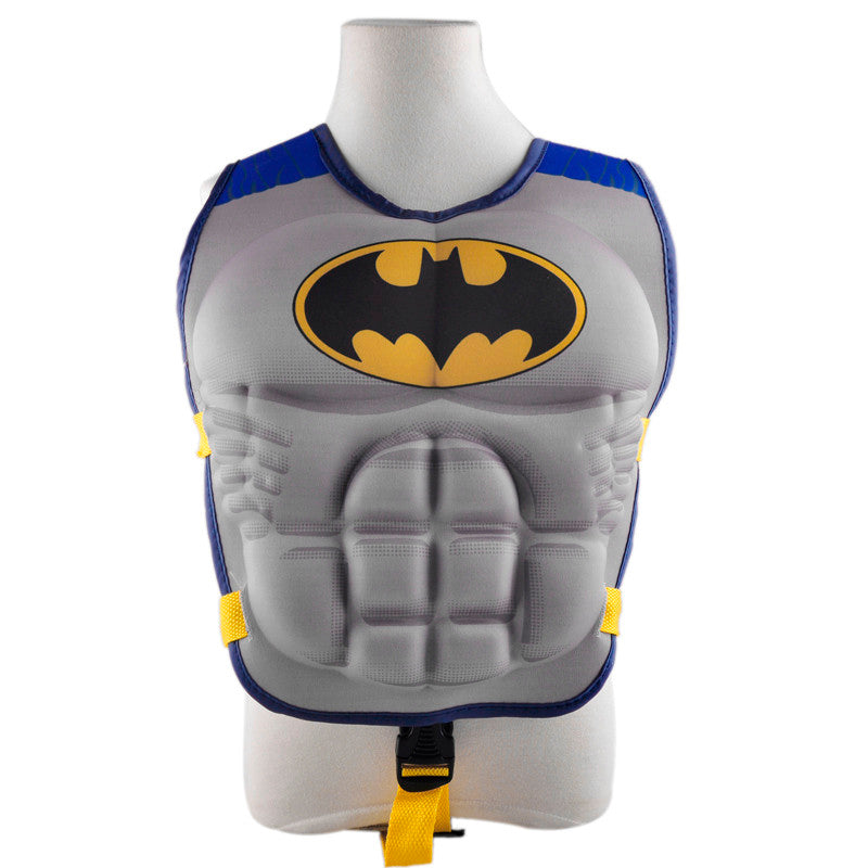 Superman batman spiderman swimming life jacket