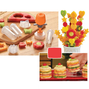 Plastic Fruit Shape Cutter Slicer