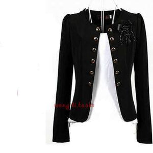 Lady casual slim short blazer