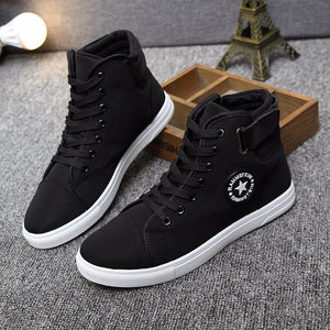 Lace-up High Casual Shoes