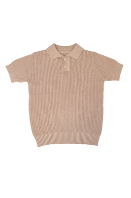Nude Knit Polo