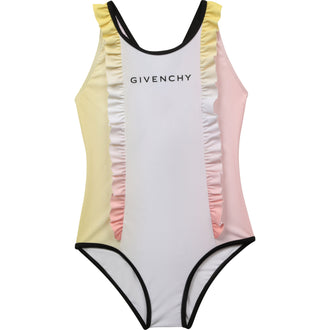 Pink Dye Affect Swimsuit