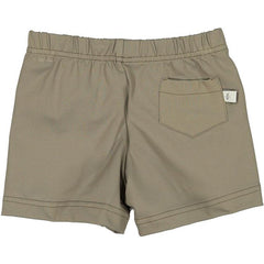 Khaki Swim Shorts