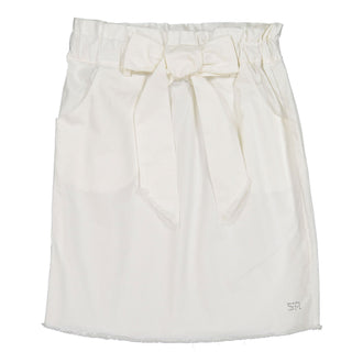 Amelia White Amelia Bow Skirt