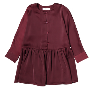 Maroon Swing Dress