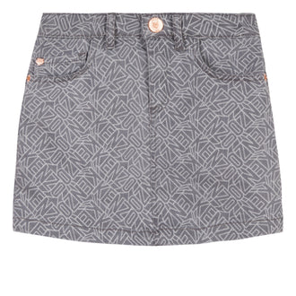 Ellyna Cosmic Kenzo Grey Denim Skirt
