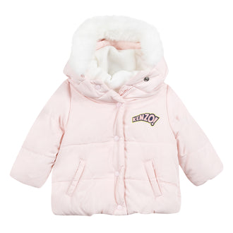 Eulalie Pink Down Jacket