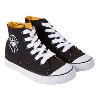 Effou Cosmic Black Sneakers