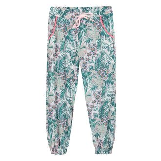 Palm Springs Tropical Print Pants