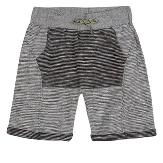 Wild Soul Grey/Black Stripe Shorts