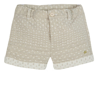 Like A Diamond Gold Dots Shorts