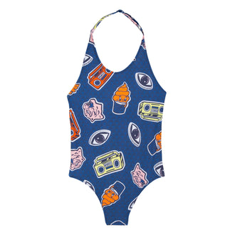 Wax Kenzo Frannie Blue Swimsuit