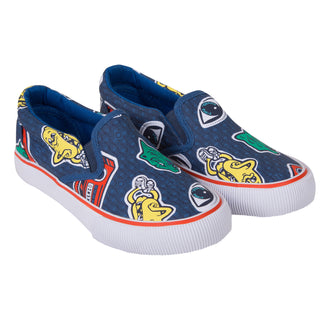 Wax Kenzo Francisco Denim Slip-ons
