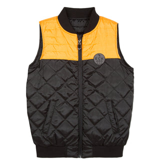 Six Rivers Black/Mustard Vest
