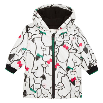 Puppies N Bows Rain Jacket