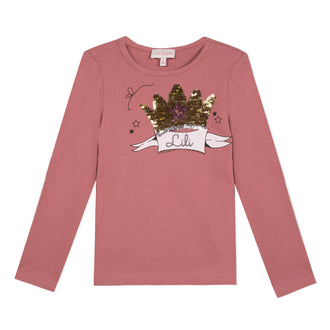 Lili School Vintage Rose Crown Tee