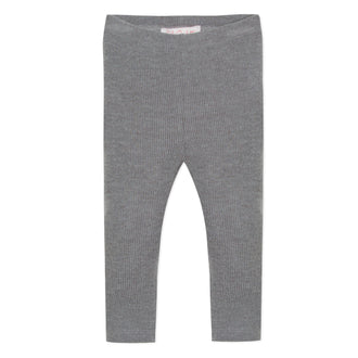 Lili School Grey Ribbed Legging