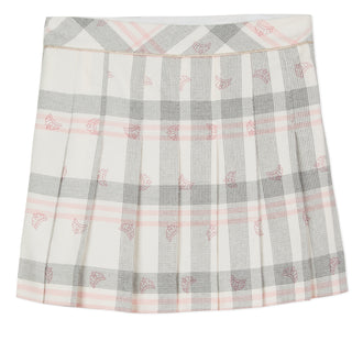 Lili School Plaid Pleated Skirt