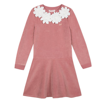 Lili School Vintage Rose Velvet Dress