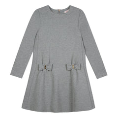 Lili Code Grey Bows Dress