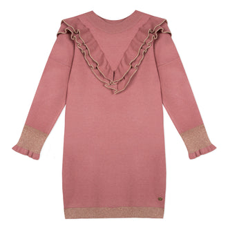 Lili School Vintage Rose Knit Dress