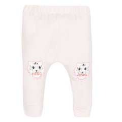 Crazy Jungle Baby Light Pink Legging