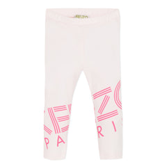 Sport Line Light Pink Logo Legging