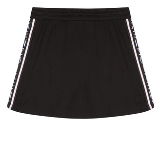 Super Kenzo Black Sport Flair Skirt