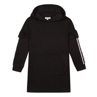 Super Kenzo Black Sport Sweatshirt Dress