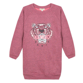 Tiger Berry Logo Sweatshirt Dress