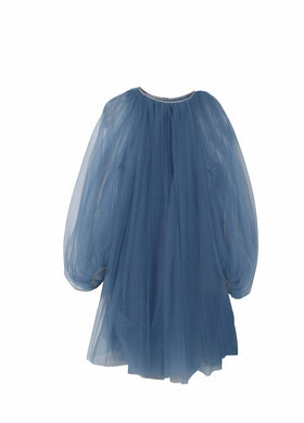 Blue Tulle Dress